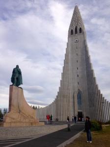 La cathédrale de Reykjavik